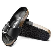 Madrid Big Buckle Black
