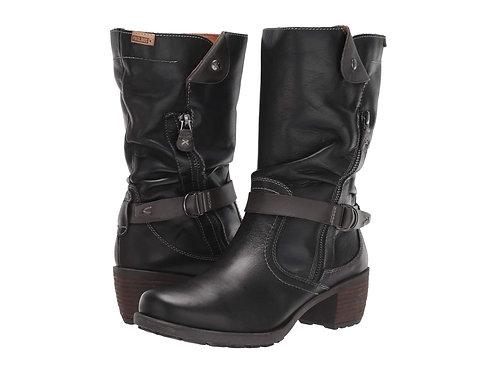 Pikolinos 9629 Mid Calf Boot, Black