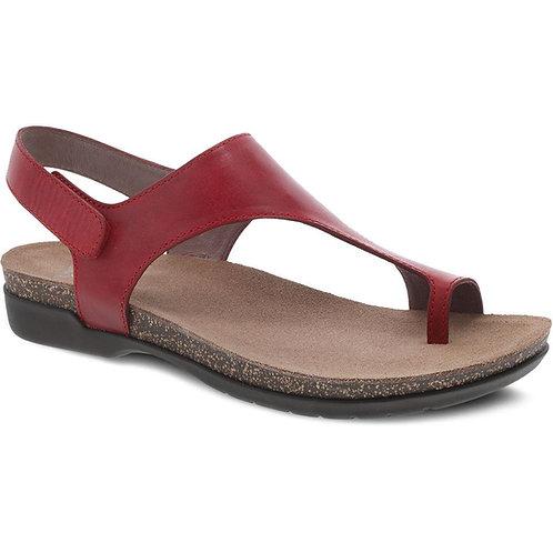 Dansko Reece  Red Leather