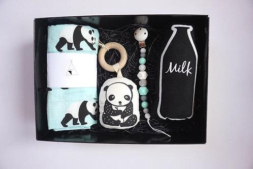 Deluxe Panda Baby Box