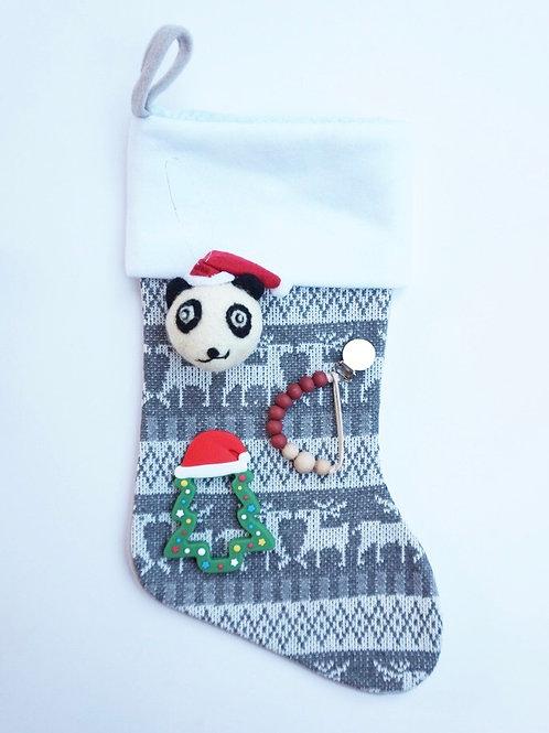 Christmas Stocking Teether Set