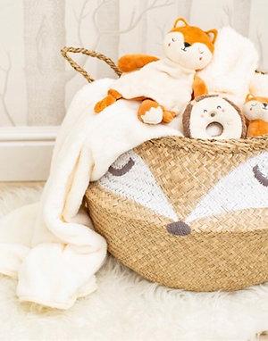 Woodland Fox Basket