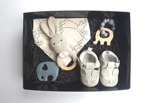 Grey Deluxe Baby Box