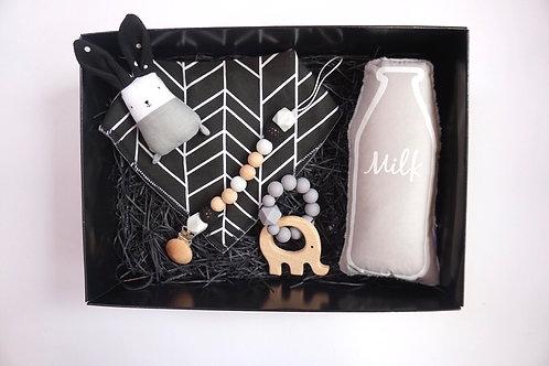 Grey Milk Baby Box