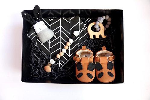 Modern Monochrome Baby Box