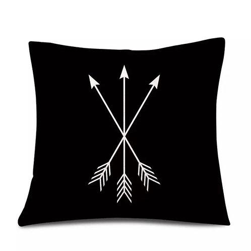 Arrow Print Cushion Cover