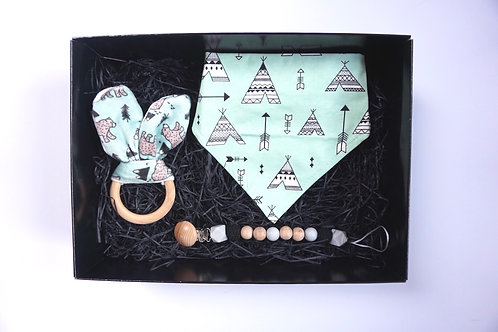 Mint Teepee Baby Box