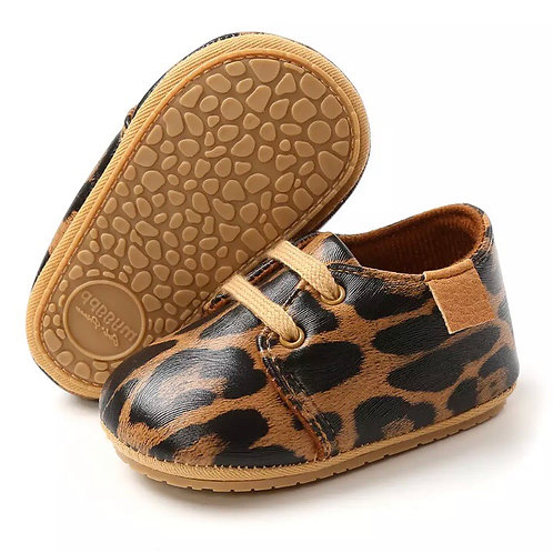 Leopard Print Moccasins