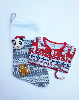 Christmas Baby Gift Set Red