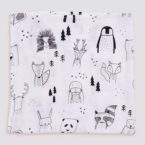 Woodlands Muslin Cloth