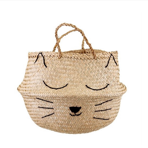Cat Whiskers Storage Basket