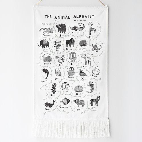 Animal Alphabet Wall Hanging