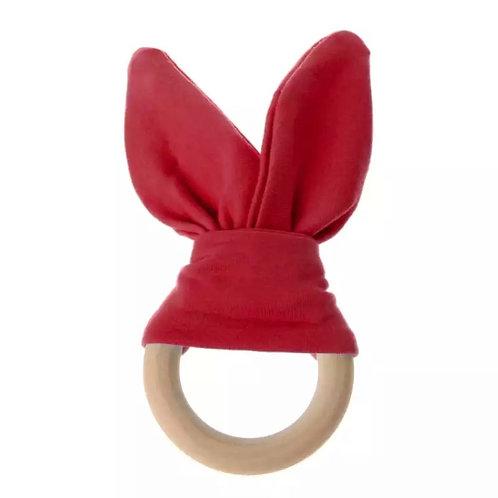 Red Bunny Ear Teether
