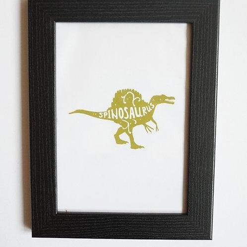 Spinosaurus Wall Print