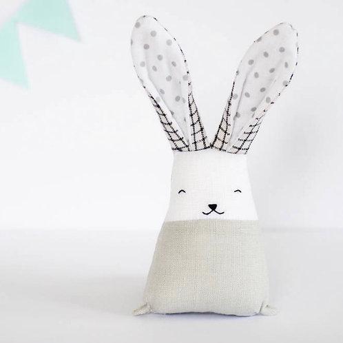 Handmade Check Bunny Toy