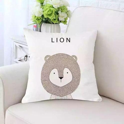 Lion Cushion Cover