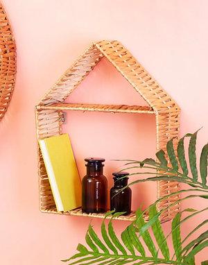 Woven House Shelf