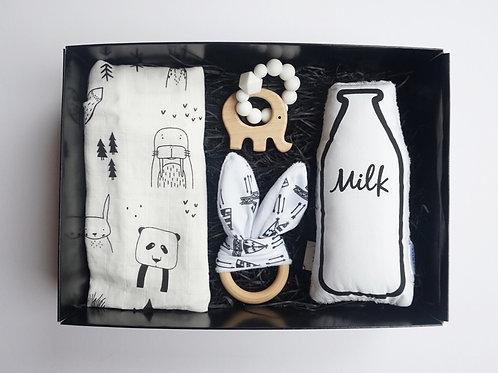 White X White Deluxe Baby Box