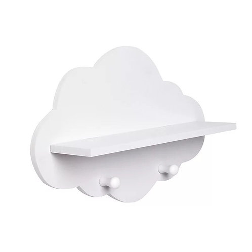 Wooden Cloud Shelf