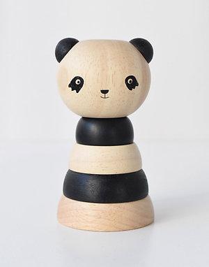 Panda Wood Stacker