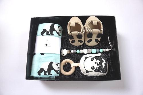 Panda Shoes Baby Box