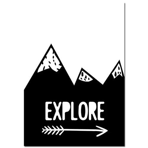 Explore Wall Print