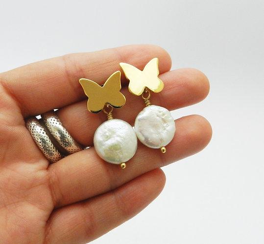 Mariposa perla barroca
