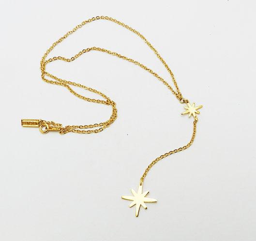 Corbatín doble estrella astral