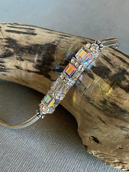 Crystal AB Duo Bracelet