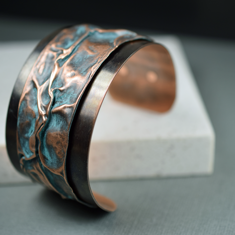 cuff, airchased, turq patina.png
