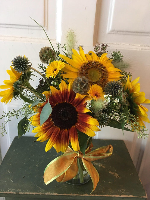 Feel the Sunflowers