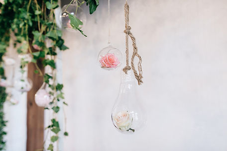 hanging_pink_wedding_flowers_planner_eve