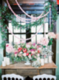 greens_pink_garland_floral_wedding_event