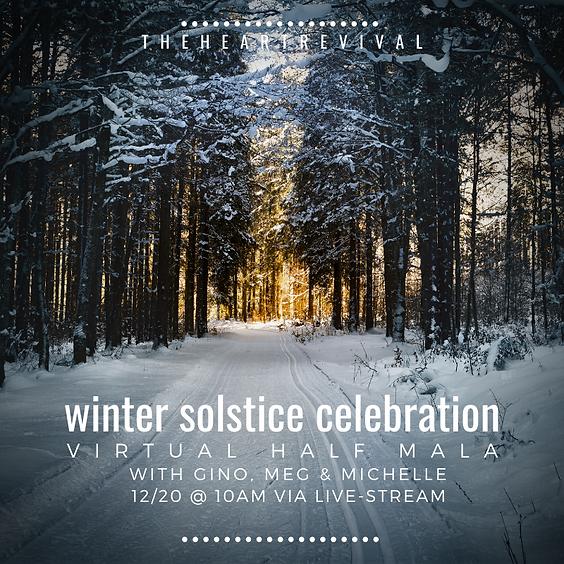 Winter Solstice Half Mala