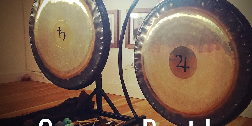 Gong Bath Sound Healing Journey with the Royals