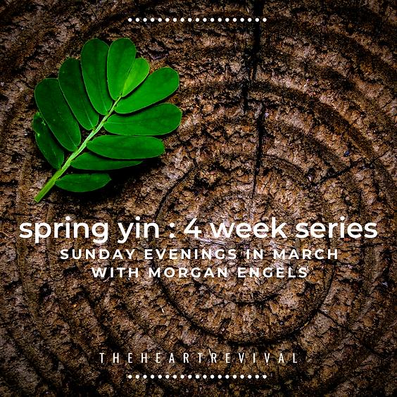 Spring Yin: 4 Week Series