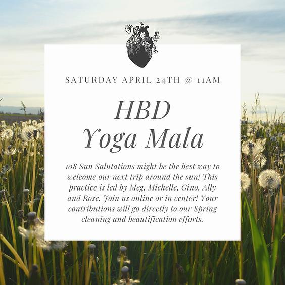 HBD, Heart Yoga Mala