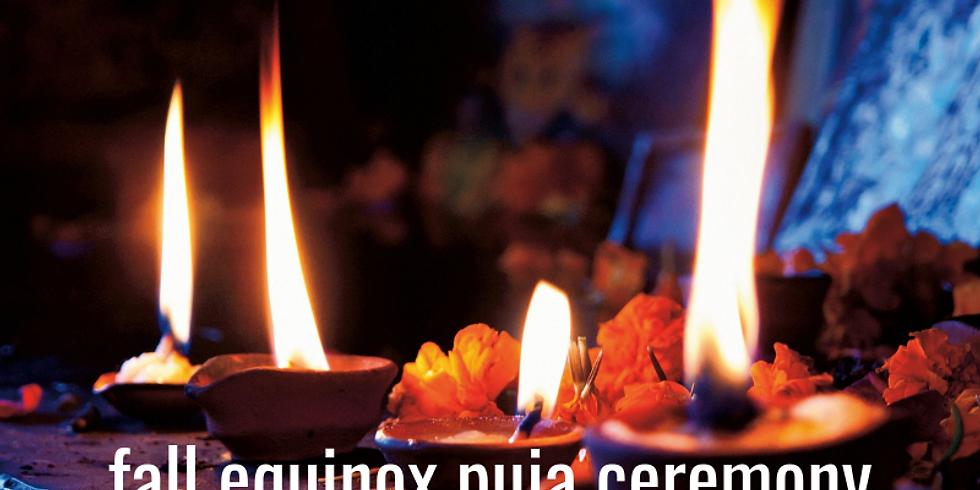 Fall Equinox Puja Ceremony