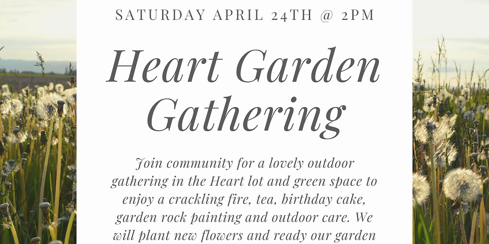 HBD, Heart Garden Gathering