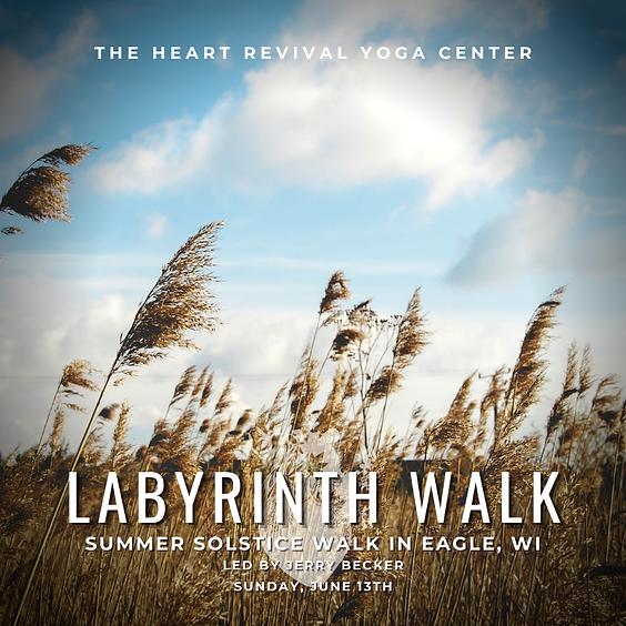 Summer Solstice Labyrinth Walk in Eagle, WI