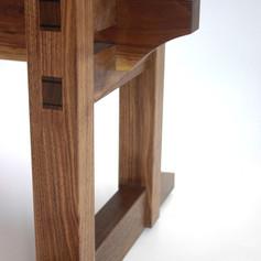 Walnut Desk Detail