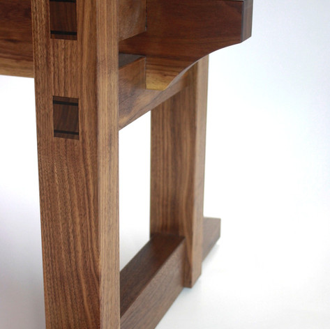 Walnut Desk Detail