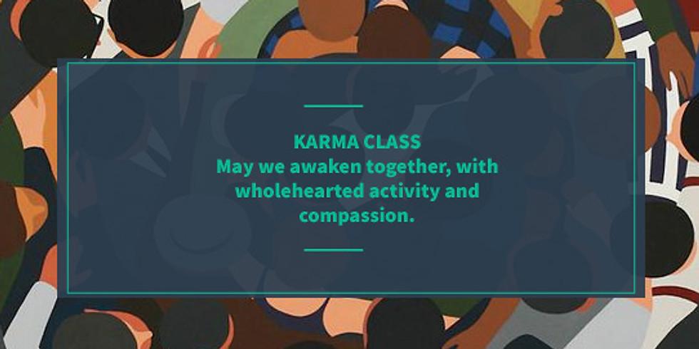 Karma Donation Class @ Healium
