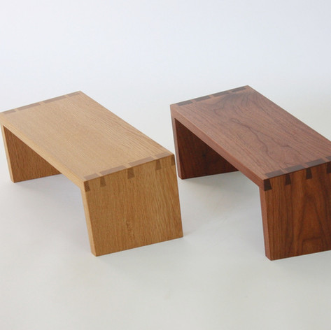 Dovetail Meditation Benches