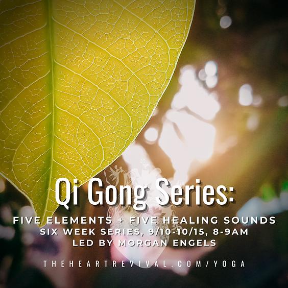 Qi Gong 6 Week Series with Morgan Engels