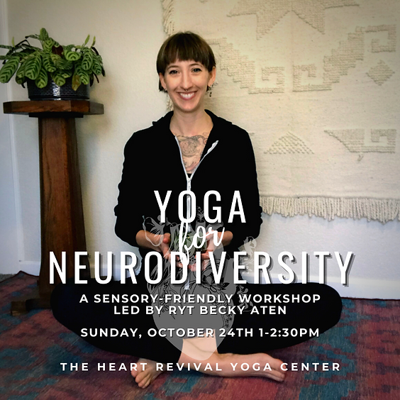 Yoga for Neurodiversity Workshop