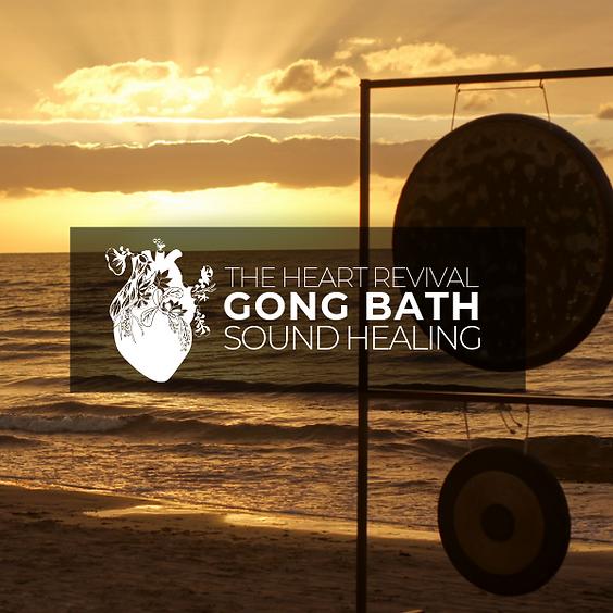Gong Bath Sound Healing w/ Adriana & Andrew RETURNS