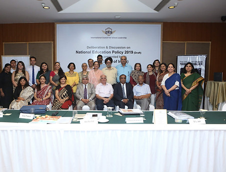 ICSL Deliberation & Discussion on National Education Policy 2019 (Draft) at Indian Habitat Centre on 07 June 2019