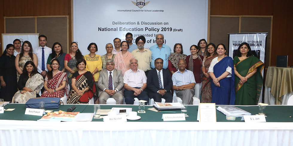 Deliberations on the  Draft of National Education Policy