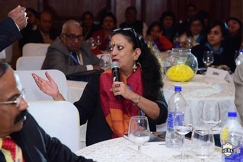Ms Shalini Nambiar addressing delegates at ICSL book launch